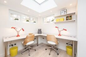 STUNNING TWO PERSON OFFICE IN FITZROVIA