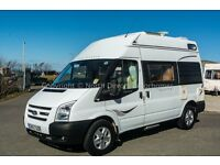 Autosleeper Duetto, 2007, 2 Berth, Hightop Motorhome, 2.4 Ford Transit - 35000 Miles