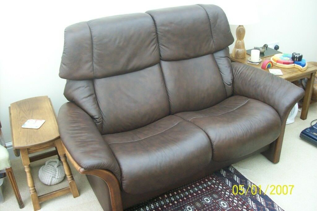 Ekornes Stressless Eldorado 2 Seater High Back Sofa In