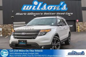2013 Ford Explorer SPORT SUV 4X4! LEATHER! NAV! PANORAMIC SUNROO