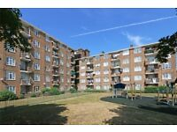 Light and spacious two double bedroom flat to let in Beattie House, SW8