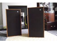 wharfdale glendale 3 xp speakers 3 ways refurbished teak cabinets vintage retro