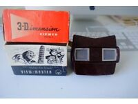 SAWYERS Vintage Viewmaster 3D Model 1 reel in Box