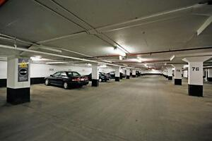 Underground parking, Balliol / Merton and Yonge