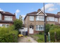 THREE BEDROOM END OF TERRACED HOUSE TO RENT IN KINGSBURY, NW9