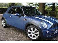 2004 1.6 MINI CONVERTIBLE COOPER BLUE - MOT NOV 2017 (OFFERS WELCOME)