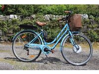 Electric Bike 250 watt front hub Lady's Vintage