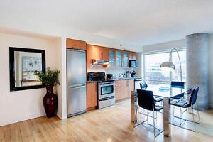 Fully furnished one bedroom, pool, gym, old montreal