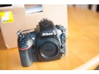 Nikon d800 body very good condition only 38921 on clock