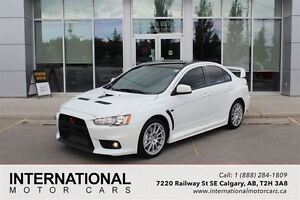 2008 Mitsubishi LANCER EVOLUTION EVO GSR! LOW LOW KMS! WHITE!