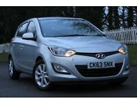 HYUNDAI I20 1.2 ACTIVE 5d 84 BHP RAC WARRANTY + BREAKDOWN COVE (silver) 2013