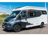 New - Hobby Optima V60GF Compact Low Profile Motorhome, 2 Berth, Rear Fixed Bed, Garage