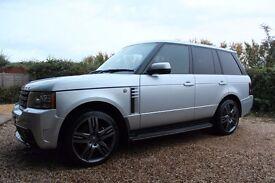 2010 Range Rover Vogue SE Overfinch Silver TDV8 3.6 STUNNING Car