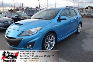 2010 Mazda Mazdaspeed3 Navigation, Bletooth, Clean Carproof