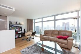 LUXURY 2 BED 2 BATH - 18TH FLOOR - Pan Peninsula E14 - CANARY WHARF DOCKLANDS SOUTH QUAY LIMEHOUSE