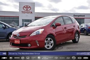 2013 Toyota Prius v Touring Pkg with leather, moon roof and allo