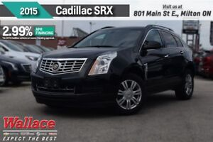 2015 Cadillac SRX 2.99% FINANCE UP TO 60MNTHS/1-OWNR/HTD STS