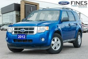 2012 Ford Escape XLT - 4X2 & 4 CYLINDER