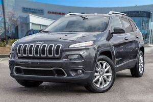 2014 Jeep Cherokee Limited, LEATHER, ROOF, NAVI