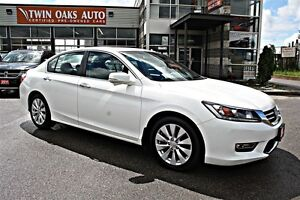 2013 Honda Accord EX-L -LANE DETECTION - REAR V/CAM - LEATHER -