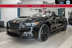 2016 Ford Mustang FORD COMPANY DEMO, GT, BLACK APPEARANCE PKG!