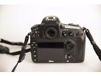 D800 body only in superb condition