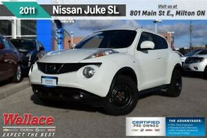 2011 Nissan Juke SL/SUNROOF/MOONROOF/HTD SEATS/17s/FOGS/PSH BUTT