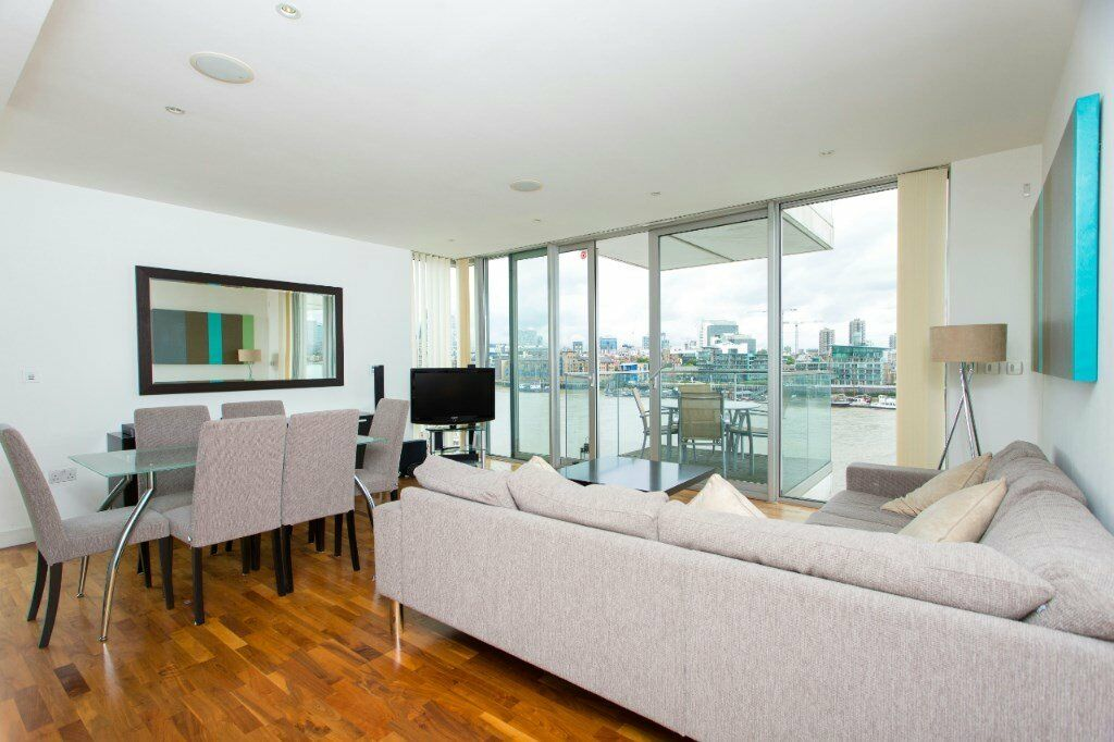 # Stunning 2 bed 2 bath coming available with amazing views close to Bermondsey station - SE16!
