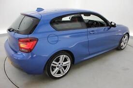 BMW 1 SERIES 120d M Sport 3dr Step Auto (blue) 2013