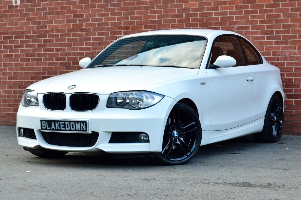 finance from 48 week 2009 bmw 120d m sport coupe diesel white full leather fsh in. Black Bedroom Furniture Sets. Home Design Ideas