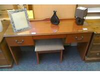 Dressing table and stool #24705 £25