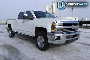 2016 Chevrolet SILVERADO 2500HD LTZ, HEATED AND COOLED LEATHER S