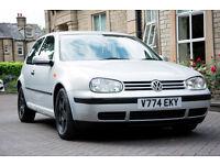 1.4 VW GOLF MK4 1999 - 70k 3-Door LOW MILEAGE V-Reliable Car - Stance GTI Alloy Wheels MOT OCT 17