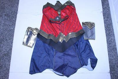Women's Wonder Woman L Halloween Costume Outfit (Red) Rubie's