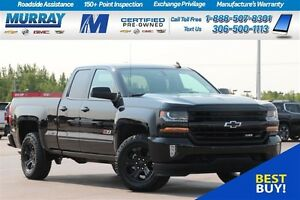 2017 Chevrolet Silverado 1500 LT Double Cab Midnight Edition