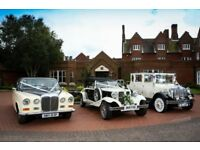 Wedding transport provided by national award winning company covering Norfolk & Suffolk