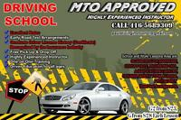 DRIVING SCHOOL,DRIVING LESSONS & DRIVING INSTRUCTOR 416-5689309