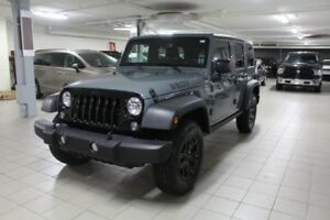 2015 JEEP WRANGLER UNLIMITED WILLYS 4X4 *2TOITS*