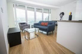 Brand New Spacious and Furnished 1 Bedroom Apartment located on the 21st Floor of Arena Tower - MA