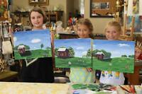 ART CLASSES - With Simcoe County Artist LISA RANKIN
