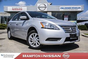 2015 Nissan Sentra 1.8 SV *Rear view monitor|Bluetooth|Heated se