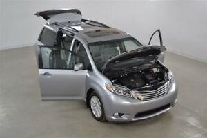 2017 Toyota Sienna Limited GPS+Cuir+Toit Panoramique 7 Passagers
