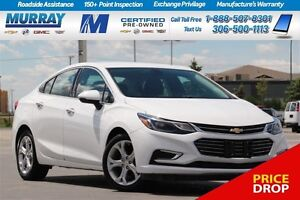 2017 Chevrolet Cruze Premier*REMOTE START,HEATED SEATS,REAR CAME
