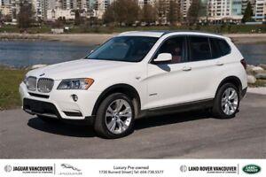 2014 BMW X3 Xdrive35i *Navigation + Premium Package!