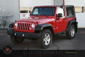 2012 Jeep Wrangler RUBICON 4X4 - GARANTIE - HITCH!!