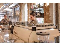 Experienced Barista - Award Winning Charlotte's Bar & Kitchen Ealing £8.50 per hour DAYTIME ROLE