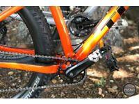 Trek roscoe 8 hardtail / downhill mountain bike mtb