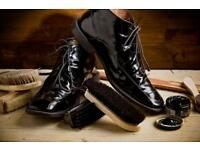 Traditional Leather Shoe Polishing Service