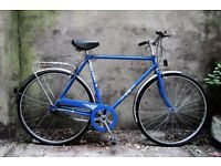 FALCON CITY, 21.5 inch, 54.5 cm, small, vintage gents dutch style traditional road bike, 3 speed