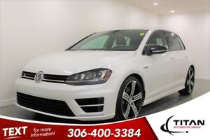 2016 Volkswagen Golf R Turbo|AWD|Leather|Fender Audio|Bluetooth
